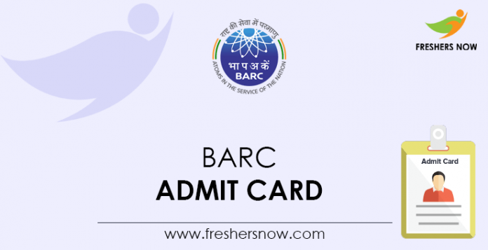BARC-Admit-Card