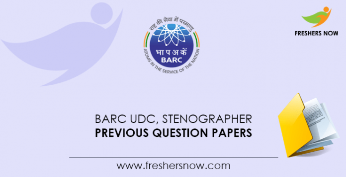 BARC-UDC,-Stenographer-Previous-Question-Papers
