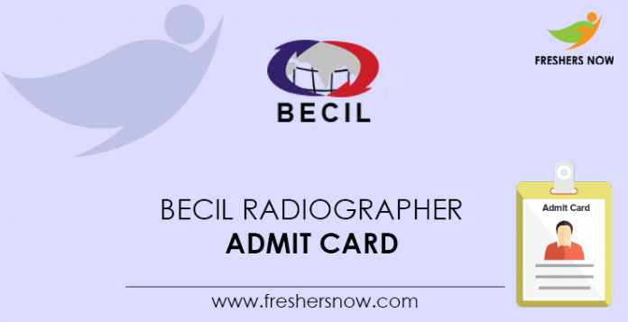 BECIL-Radiographer-Admit-Card