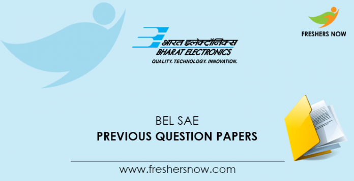 BEL SAE Previous Question Papers