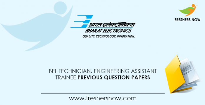 BEL-Technician,-Engineering-Assistant-Trainee-Previous-Question-Papers