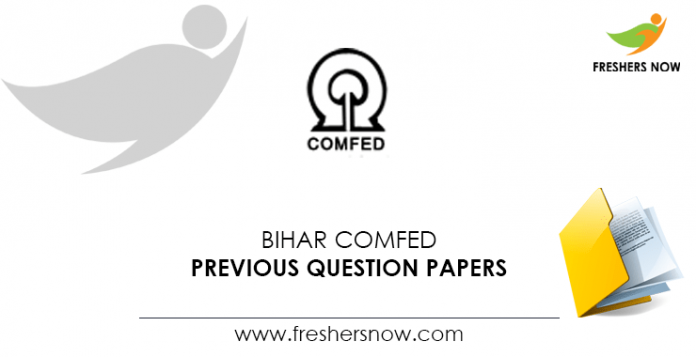 Bihar-COMFED-Previous-Question-Papers