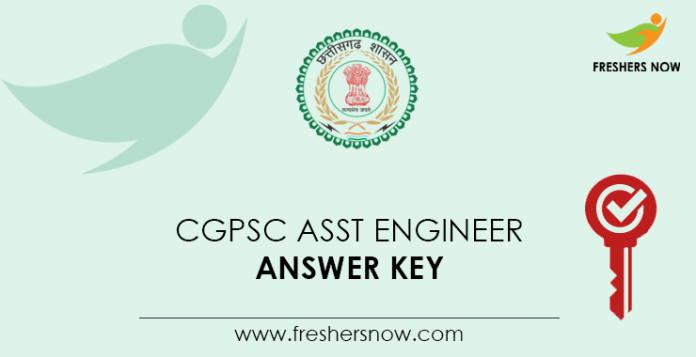 CGPSC Assistant Engineer Answer Key