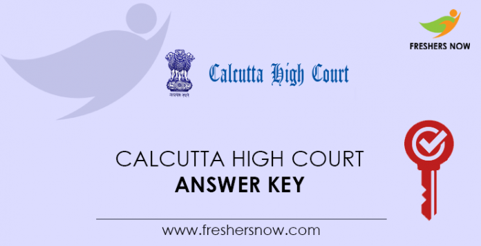Calcutta-High-Court-Answer-Key
