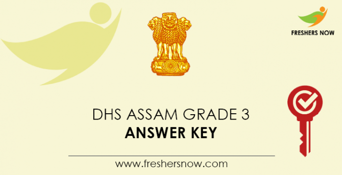DHS Assam Grade 3 Answer Key