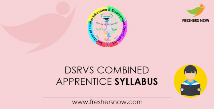 DSRVS Combined Apprentice Syllabus