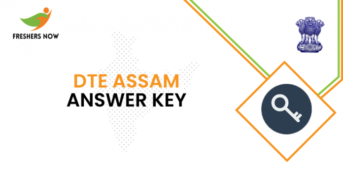 DTE Assam Answer Key