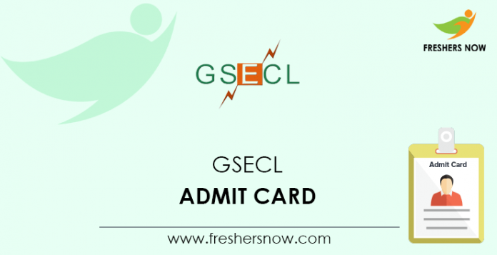 GSECL-Admit-Card