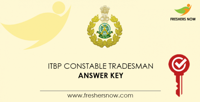 ITBP Merchant Agent Answer Key