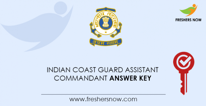Indian-Coast-Guard-Assistant-Commandant-Answer-Key