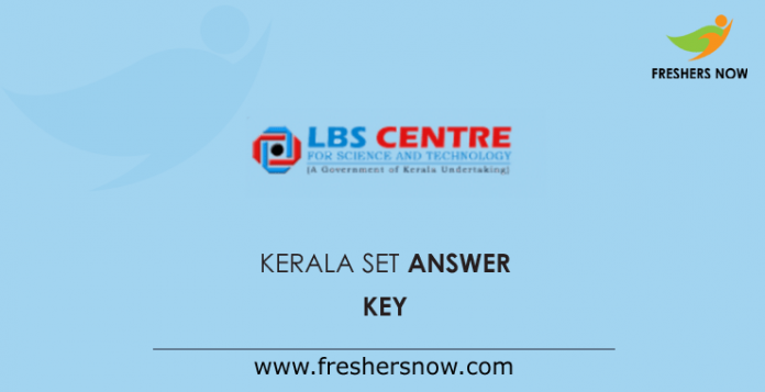 Kerala SET Answer Key