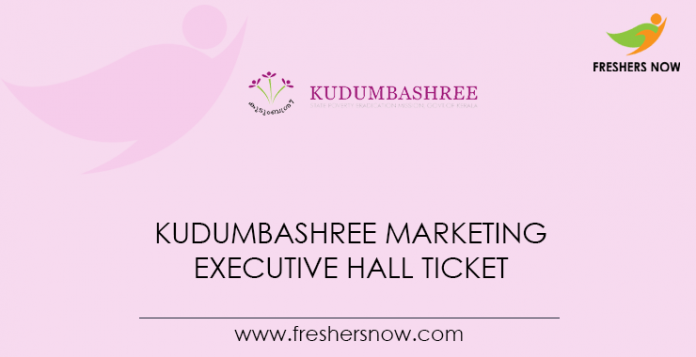 Kudumbashree-Marketing-Executive-Hall-Ticket