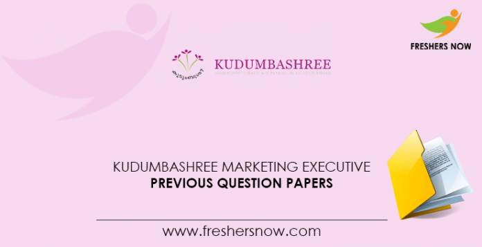 Kudumbashree-Marketing-Executive-Previous-Question-Papers