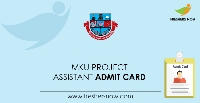 MKU-Project-Assistant-Admit-Card