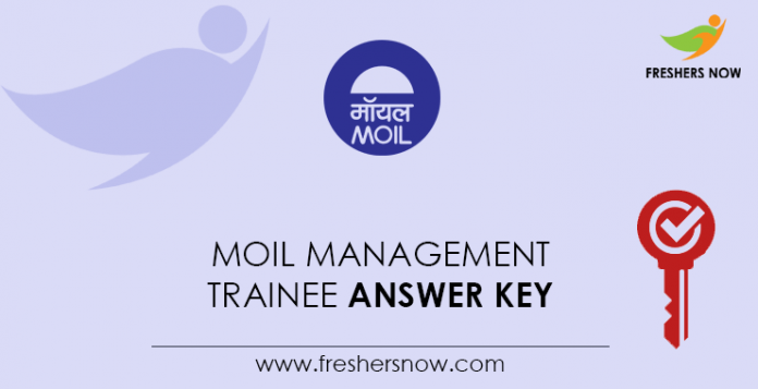 MOIL Management Trainee Answer Key