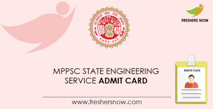 MPPSC-State-Engineering-Service-Admit-Card