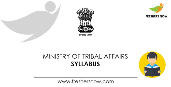 Ministry of Tribal Affairs Syllabus