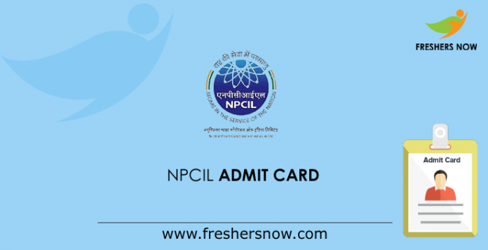 NPCIL-Admit-Card