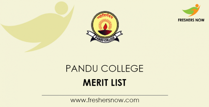 Pandu College Merit List