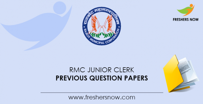 RMC-Junior-Clerk-Previous-Question-Papers