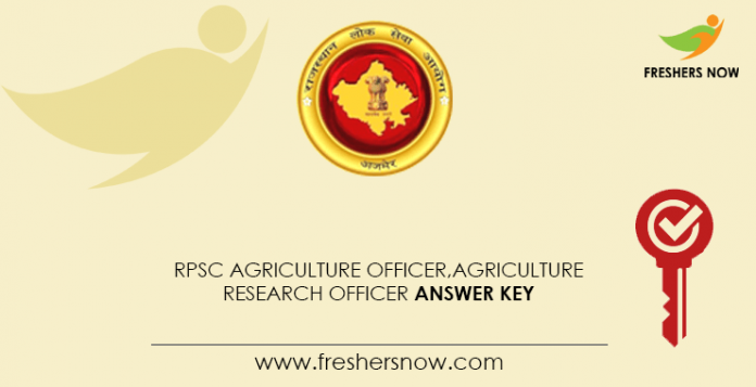 RPSC-Agriculture-Officer,-Agriculture-Research-Officer-Answer-Key