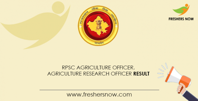 RPSC-Agriculture-Officer,-Agriculture-Research-Officer-Result