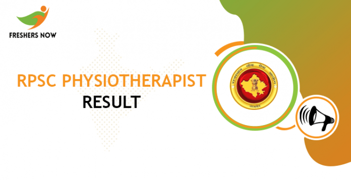 RPSC-Physiotherapist-result