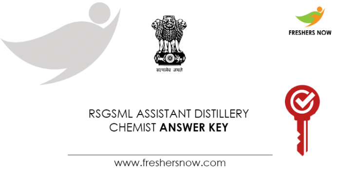 RSGSML-Assistant-Distillery-Chemist-Answer-Key