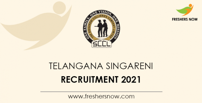 Telangana Singareni Recruitment 2021