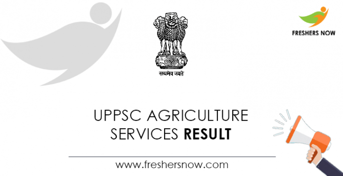 UPPSC-Agriculture-Services-Result