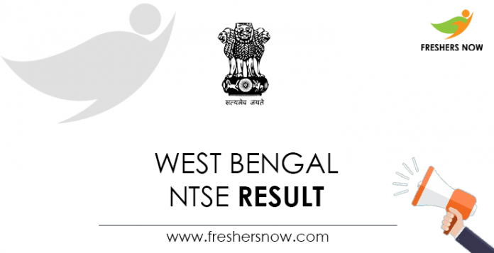 West Bengal NTSE result