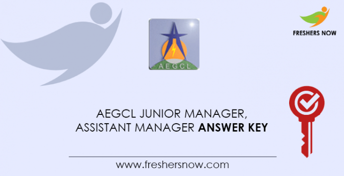 AEGCL-Junior-Manager,-Assistant-Manager-Answer-Key