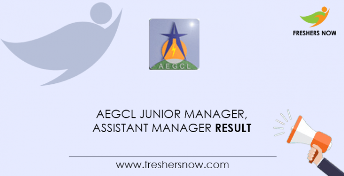 AEGCL-Junior-Manager,-Assistant-Manager-Result