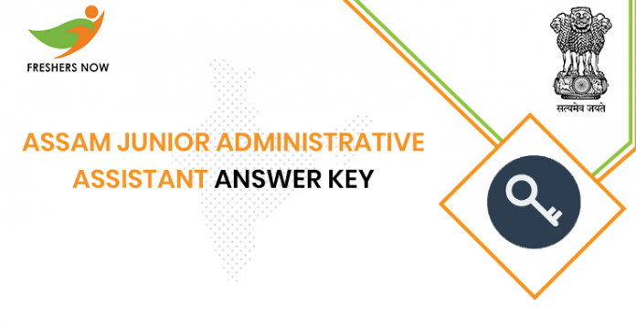 Assam Junior Administrative Assistant Answer Key
