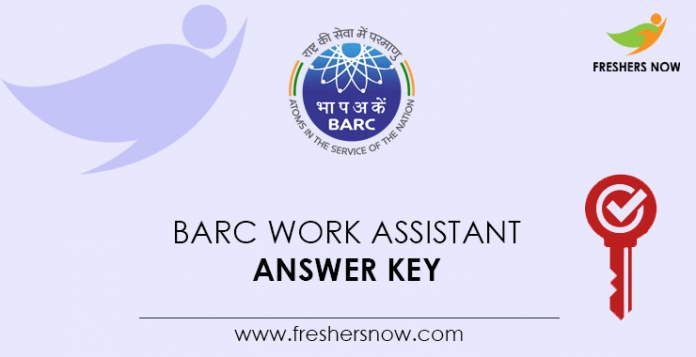 BARC-Work-Assistant-Answer-Key