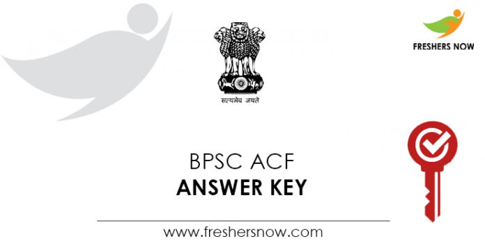 BPSC-ACF-Answer-Key