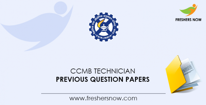 CCMB-Technician-Previous-Question-Papers