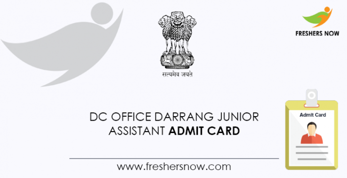 DC-Office-Darrang-Junior-Assistant-Admit-Card
