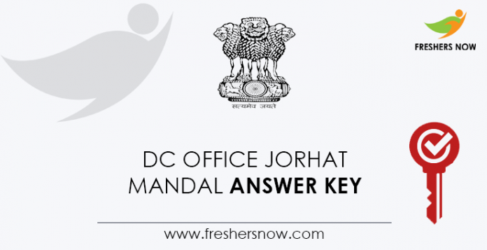 DC-Office-Jorhat-Mandal-Answer-Key