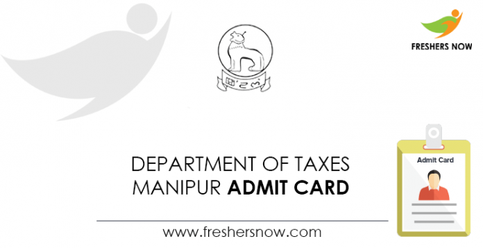 Department-of-Taxes-Manipur-Admit-Card
