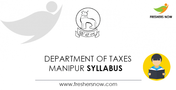 Department-of-Taxes-Manipur-Syllabus