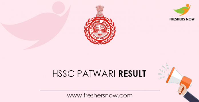 HSSC-Patwari-Result
