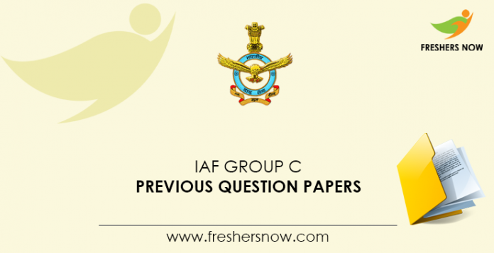 IAF-Group-C-Previous-Question-Papers