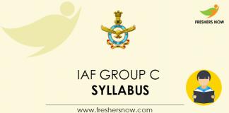 IAF-Group-C-Syllabus