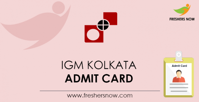 IGM-Kolkata-Admit-Card