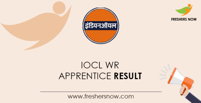 IOCL-WR-Apprentice-Result
