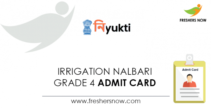 Irrigation-Nalbari-Grade-4-Admit-Card