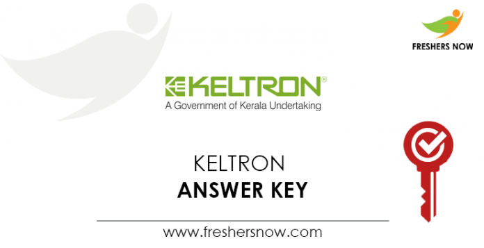KELTRON-Answer-Key