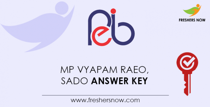 MP-Vyapam-RAEO,-SADO-Answer-Key