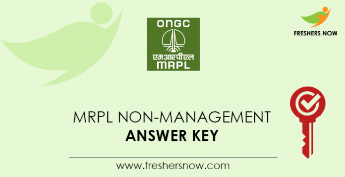 MRPL-Non-Management-Answer-Key